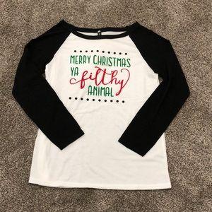 Tops - NWT Christmas Shirt